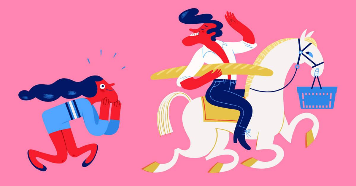 Volgens deze kassamedewerkers kunnen jullie je flirtgame verbeteren